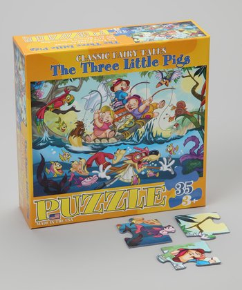 The Three Little Pigs Classic Fairy Tales Puzzle