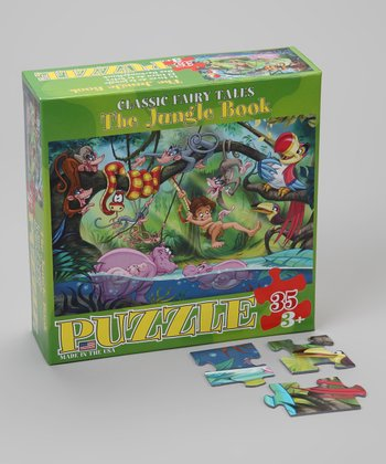The Jungle Book Classic Fairy Tales Puzzle