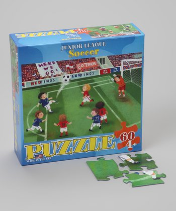 Soccer Junior League Puzzle