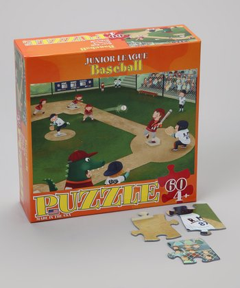 Baseball Junior League Puzzle