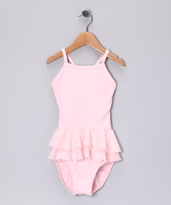 Light Pink Petite Ballerina Skirted Leotard - Toddler & Girls