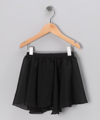 Black Pull-On Skirt - Toddler & Girls
