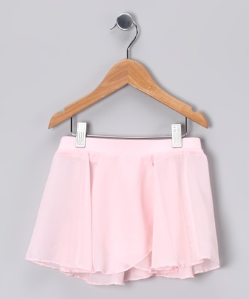 Light Pink Pull-On Skirt - Toddler & Girls