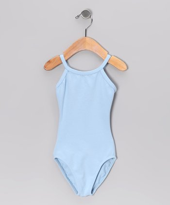 Light Blue Tank Leotard - Toddler & Girls