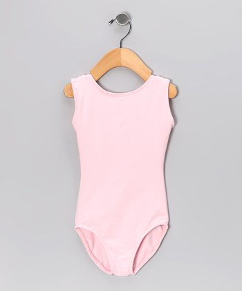Light Pink Classic Leotard - Toddler & Girls