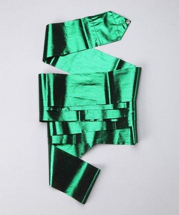 Green Metallic Streamer