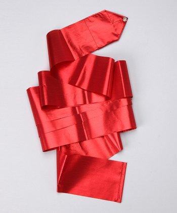 Red Metallic Streamer