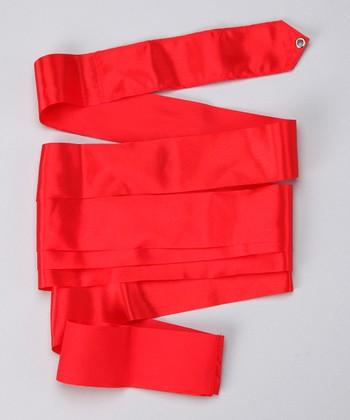 Red Satin Streamer