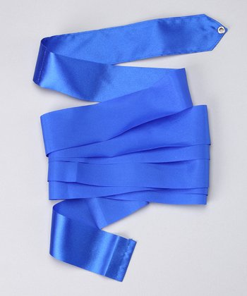 Royal Blue Satin Streamer
