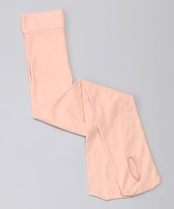 Ballet Pink Convertible Tights - Toddler & Girls