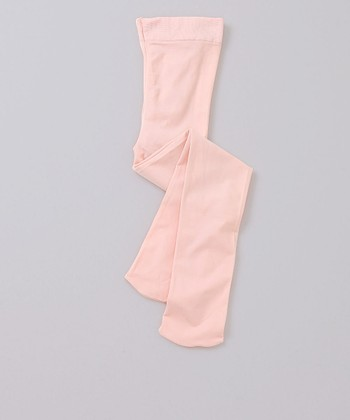 Theatrical Pink Footed Tights - Toddler & Girls