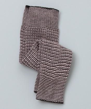Black & Pink Leg Warmers