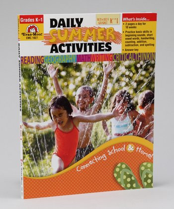 Daily Summer Activities: Between Kindergarten & Grade 1 Workbook