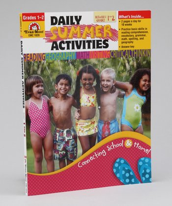 Daily Summer Activities: Between Grades 1 & 2 Workbook