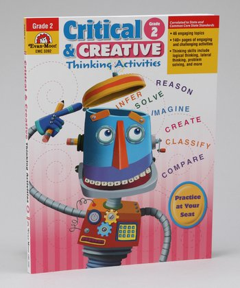 Critical & Creative Thinking Activities Grade 2 Paperback