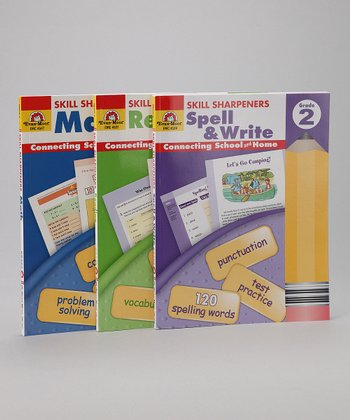 Skill Sharpeners Grade 2 Workbook Set