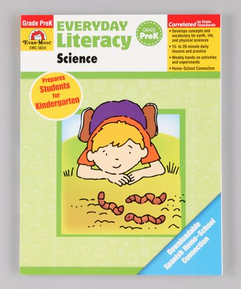 Everyday Literacy Science: Pre-K Paperback