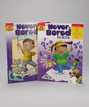 The Never-Bored Kid Books Ages 7 to 8 Set