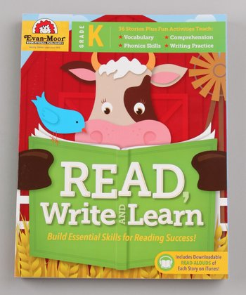 Read, Write and Learn! Kindergarten Paperback