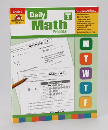 Teacher's Edition Daily Math Practice Paperback