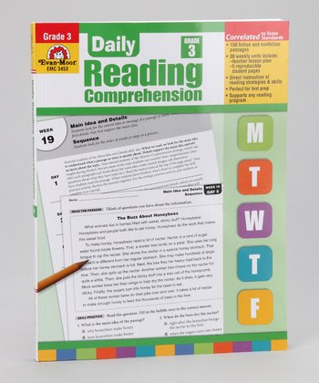 Daily Reading Comprehension Paperback