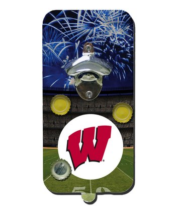 Wisconsin Clink 'n' Drink Magnetic Bottle Opener