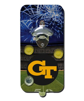 Georgia Tech Clink 'n' Drink Magnetic Bottle Opener