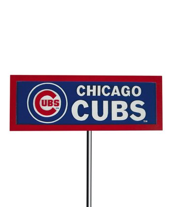 Chicago Cubs Garden Sign