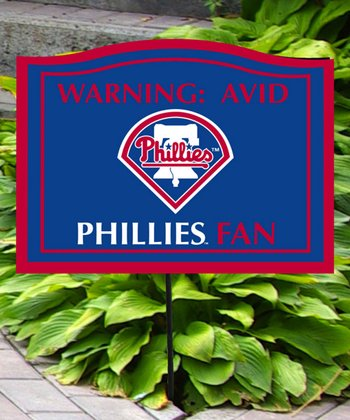 Philadelphia Phillies Avid Fan Sign