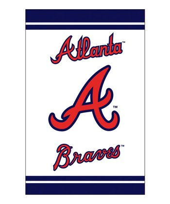 Atlanta Braves Fiber Optic Garden Flag