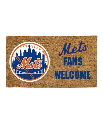 New York Mets 'Fans Welcome' Mat