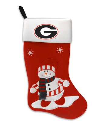 Georgia Snowman Stocking