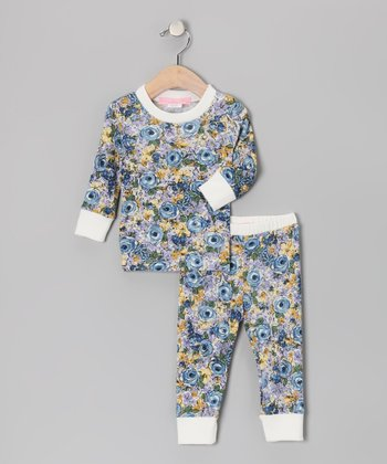 Blue Oasis Pajama Set - Infant, Toddler & Girls