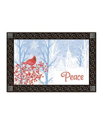 Winter's Peace MatMates Doormat