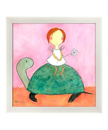 Eyelevel Fairy & Turtle Framed Print