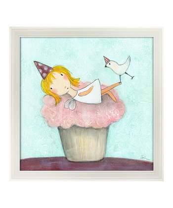 Eyelevel Cupcake Fairy Framed Print
