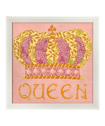 Eyelevel Queen Framed Print