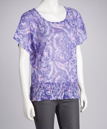 Eyeshadow Bliris Tie-Dye Tropical Top