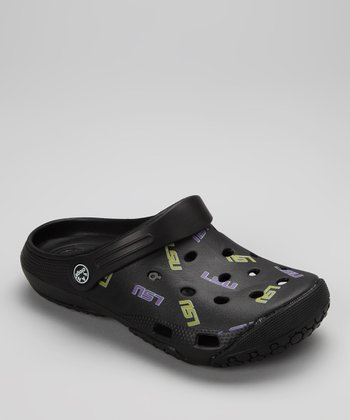 Black LSU Clog - Women