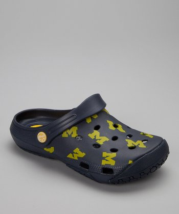 Dark Blue Michigan Clog - Women