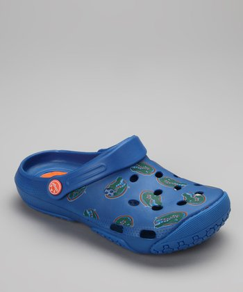 Blue Florida Clog - Women