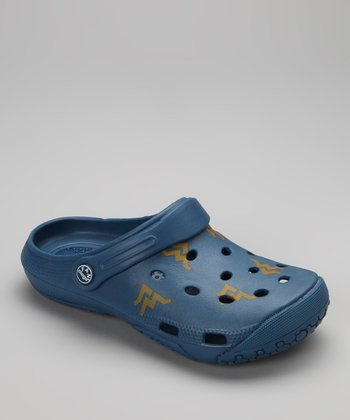 Blue West Virginia Clog - Women