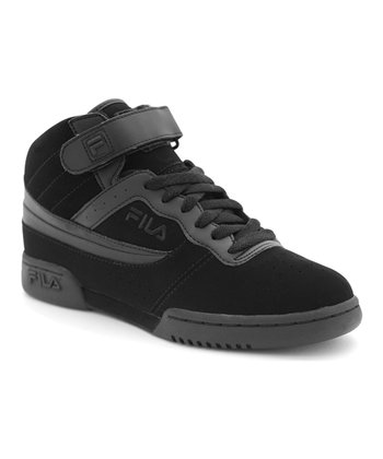 Triple Black F-13V Hi-Top Sneaker - Kids
