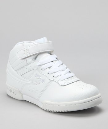 Triple White F13 Hi-Top Sneaker