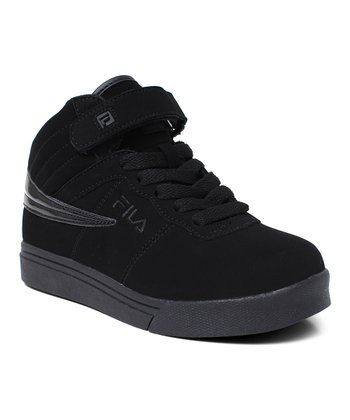 Triple Black Vulc 13 Hi-Top Sneaker