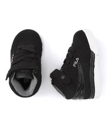 Black & White Vulc 13 Hi-Top Sneaker