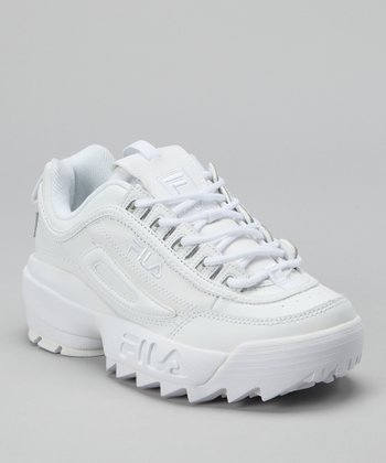 Triple White Disruptor II Sneaker
