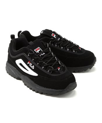 Black & Red Disruptor II Sneaker