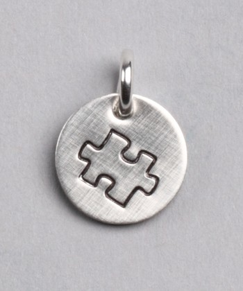 Sterling Silver Expressions Autism Awareness Charm