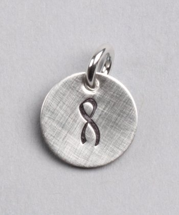 Sterling Silver Expressions Awareness Ribbon Charm
